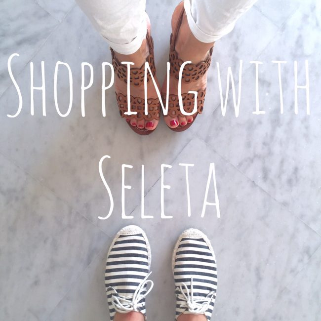 shopping with seleta
